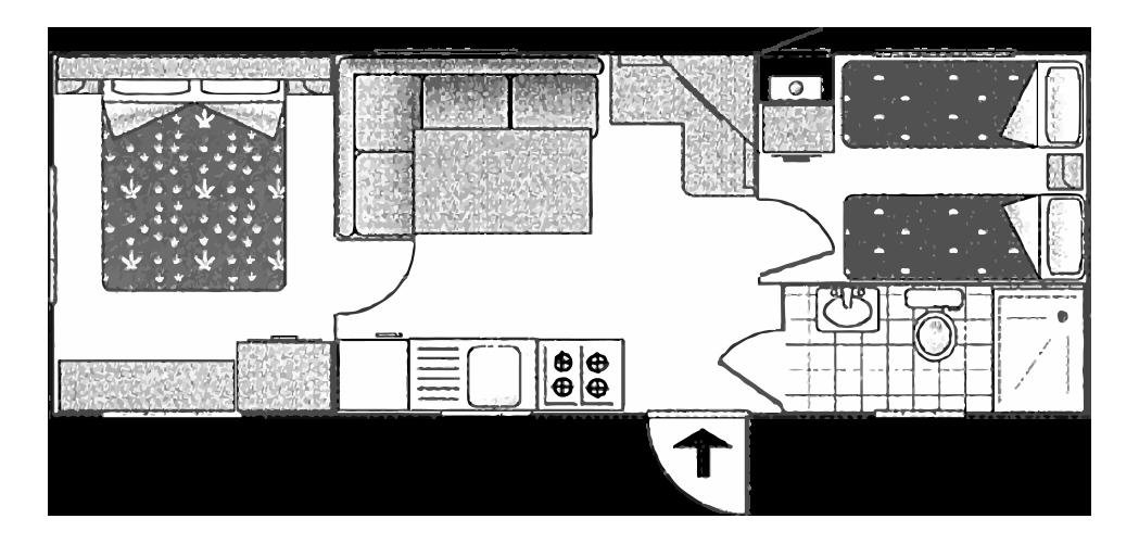 location de mobile home et caravane. Black Bedroom Furniture Sets. Home Design Ideas